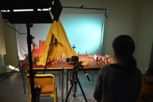 Tournage animation pâte à modeler