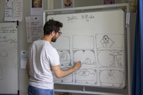 Story board / découpage technique